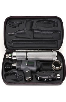 Panoptic by Welch Allyn Marcorview 3.5V Led Halogen Otoscope With Lithium Ion Handle Set 97800-Msl
