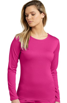 Fit by White Cross Women's Long Sleeve Mesh Solid T-Shirt