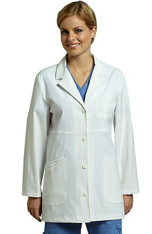 Clearance White Cross Women's Stretch Lab Coat