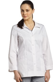 Allure by White Cross Women's Shirt Tail Lab Coat