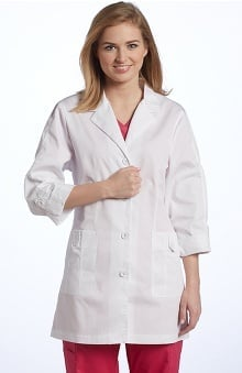 Allure by White Cross Women's Roll-Up Sleeve Lab Coat