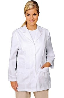 "White Cross Women's 31"" Elastic Tab Detail Lab Coat"