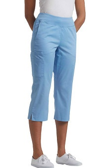 Allure by White Cross Women's Yoga Waist Band Capri Scrub Pant