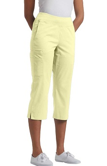 Clearance Allure by White Cross Women's Yoga Waist Band Capri Scrub Pant