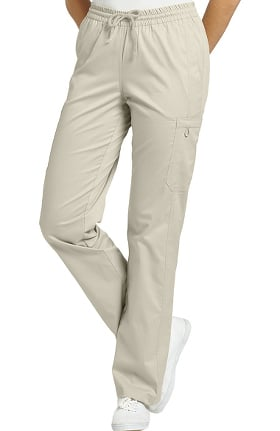 Allure by White Cross Women's Elastic Waist Cargo Scrub Pant