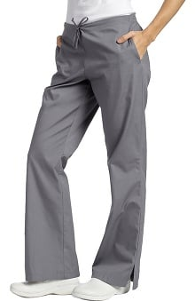 petite: 321 Scrubs by White Cross Women's Drawstring Flare Leg Pant
