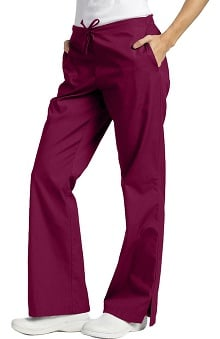 321 Scrubs by White Cross Women's Drawstring Flare Leg Pant