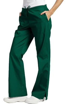Clearance 321 Scrubs by White Cross Women's Drawstring Flare Leg Pant