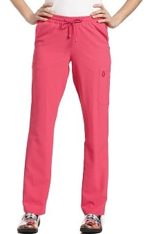 Oasis by White Cross Women's Elastic Waistband Cargo Scrub Pant