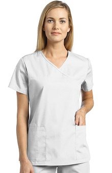 321 Scrubs by White Cross Women's Y-Neck Top