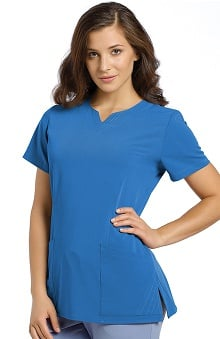 Marvella by White Cross Women's Notch Neck Scrub Top