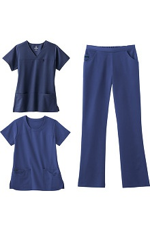stethoscopes: Jockey Scrubs Women's 2 Tops 1 Pant Set