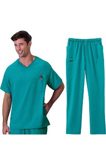 Classic Fit Collection by Jockey® Scrubs Men's Scrub Set