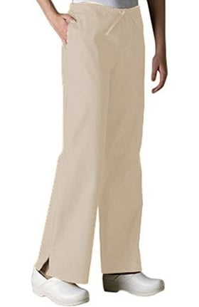 Clearance Fundamentals by White Swan Women's Drawstring Flare Leg Scrub Pants