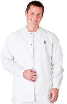 Fundamentals by White Swan Men's Warm Up Scrub Jacket