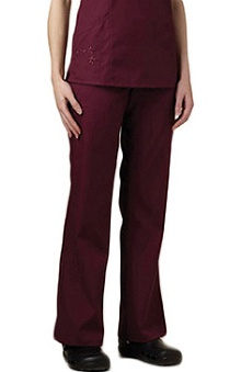 clearance750: White Swan Women's Embroidered Scrub Pants