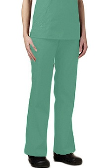 clearance750: Fundamentals by White Swan Women's Embroidered Scrub Pants