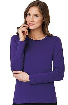 Clearance Fundamentals by White Swan Women's Long Sleeve Layering Underscrub