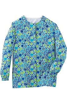 Clearance Fundamentals by White Swan Women's Raglan Warm Up Abstract Print Jacket