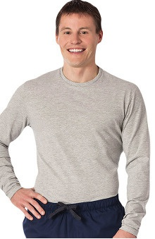Fundamentals by White Swan Men's Long Sleeve Underscrub