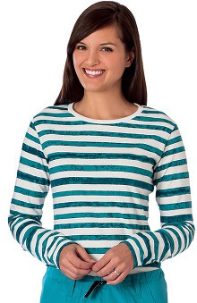 Fundamentals by White Swan Women's Striped Layering Underscrub