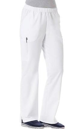 F3 Fundamentals by White Swan Women's Twill Elastic Waist Scrub Pant