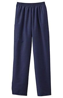 unisex pants: Fundamentals by White Swan Unisex 5 Pocket Scrub Pants