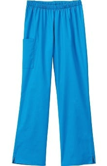 F3 Fundamentals By White Swan Women's Elastic Waist Cargo Scrub Pant