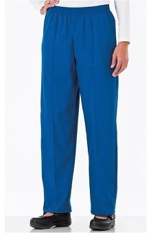 Fundamentals by White Swan Women's Pull-On Front Seam Scrub Pants