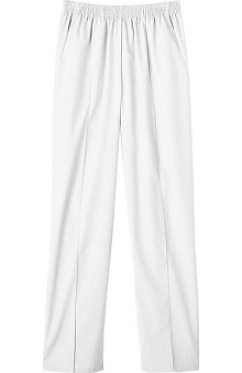 Clearance Fundamentals by White Swan Women's Pull-On Front Seam Scrub Pants