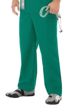 F3 Fundamentals By White Swan Unisex Elastic Waist Cargo Scrub Pant