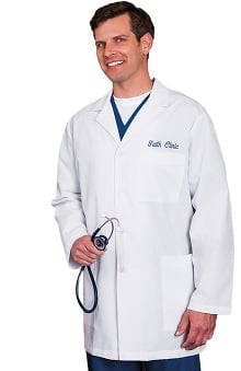 "Fundamentals by META Labwear Men's 34"" Lab Coat"