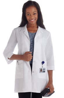 labcoats: Fundamentals by META Labwear Women's 3/4 Sleeve Lab Coat