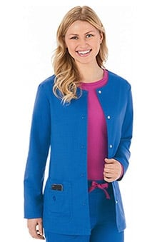Bio Women's Warm Up Scrub Jacket