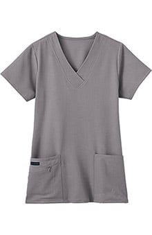 Classic Fit Collection by Jockey Women's Tri Blend Solid Scrub Top