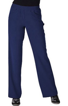 petite: Jockey Scrubs Women's 2 Pocket Tri Blend Scrub Pants