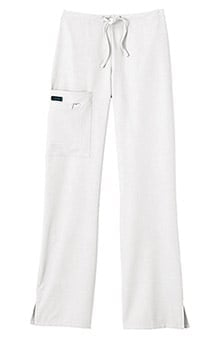 petite: Classic Fit Collection by Jockey Women's Tri Blend Zipper Scrub Pants