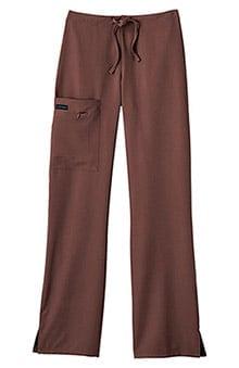 petite: Classic Fit Collection by Jockey Women's Tri Blend Zipper Scrub Pants