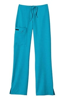 Clearance Classic Fit Collection by Jockey Women's Tri Blend Zipper Scrub Pants