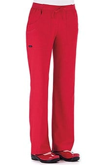 Classic Fit Collection by Jockey Women's Rib Trim Combo Comfort Tri Blend Scrub Pants