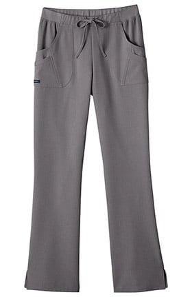 Clearance Classic Fit Collection by Jockey® Women's Rib Trim Combo Comfort Tri Blend Scrub Pants