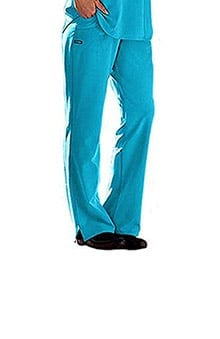 Clearance Classic Fit Collection by Jockey Women's Rib Trim Combo Comfort Tri Blend Scrub Pants