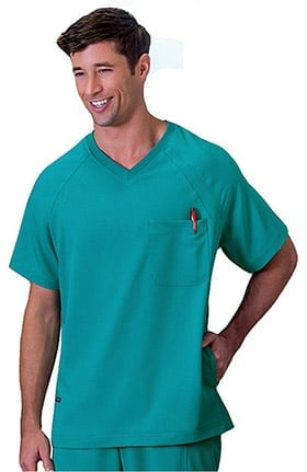 Clearance Classic Fit Collection by Jockey® Scrubs Men's Pull-On Scrub Top