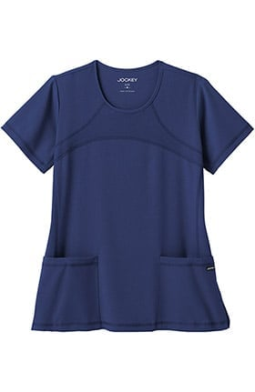 Clearance Modern Fit Collection by Jockey® Women's Mesh Round Neck Scrub Top