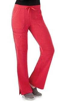 Classic Fit Collection By Jockey Women's Drawstring Cargo Scrub Pant