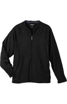 Modern Fit Collection by Jockey® Scrubs Men's Zip Front Fleece Solid Scrub Jacket