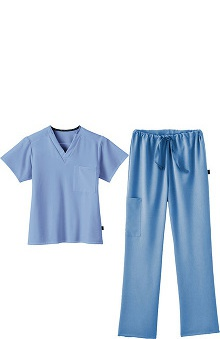 Classic Fit Collection by Jockey® Scrubs Scrubs Unisex Tri-Blend Set