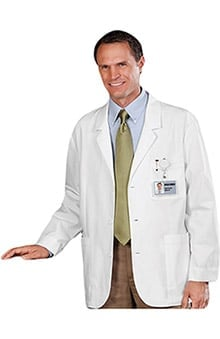 "Clearance META Labwear Men's 30"" Expandable iPad Consultation Coat"