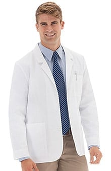 "Meta Labwear Men's 30"" Consultation Lab Coat"