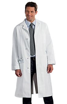 "META Labwear Men's 45"" Knot Button Lab Coat"